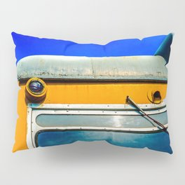 Old Locomotive, The Sky Is The Limit Pillow Sham