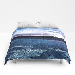 Rising Dunes Woodblock Comforters