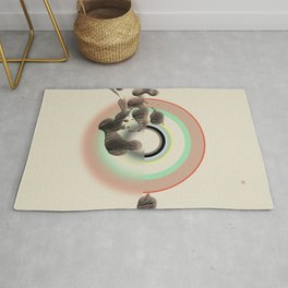 Inner Landscape (Etude Circulaire n° 6) Rug