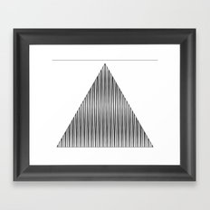 shape eye 1 Framed Art Print