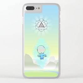 Transporter Clear iPhone Case