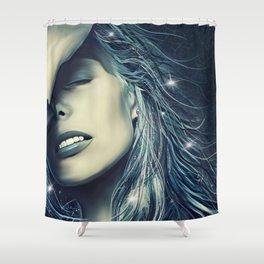 Northern Star - Joni Mitchell Shower Curtain