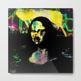Mona Lisa POP ART PAINTING PRINT Metal Print