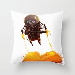 Cobra Unit - The Fury Throw Pillow