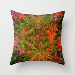 Star Squirt Blast III Throw Pillow