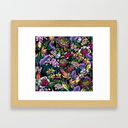 Stand Out! (midnight) Framed Art Print