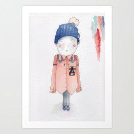 Joshua Art Print