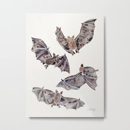 Bat Collection Metal Print