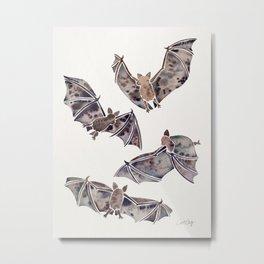 Bat Collection Metal Print