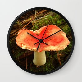 Mushroom M Wall Clock