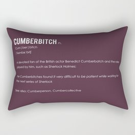 Cumberbitch Rectangular Pillow