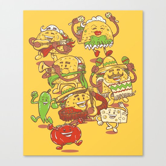 Let there be TACOS Canvas Print