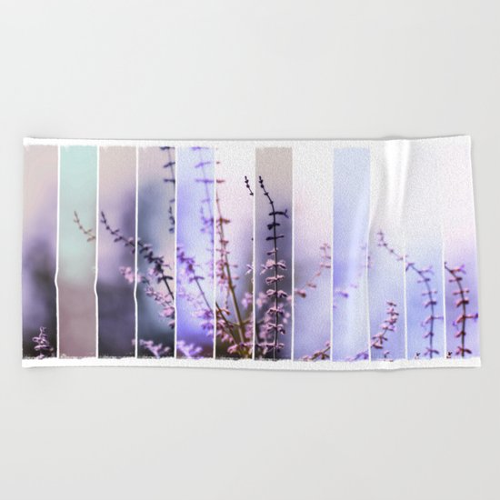 FLOWER - TWELVE Beach Towel