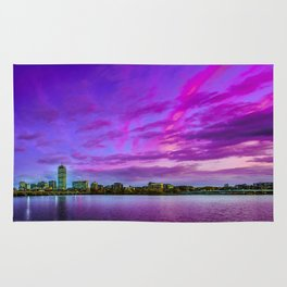 Sun dusk over Boston Rug