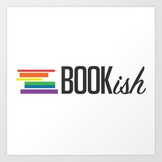 Bookish and Proud Art Print