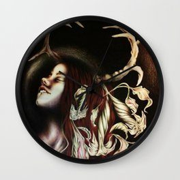Moonglow Wall Clock