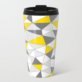 pattern-T Metal Travel Mug