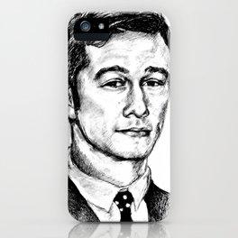 Joseph Gordon-Levitt drawing iPhone Case