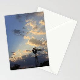 God's Ray's shining through Stationery Cards