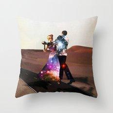 Lucy & DiMiTri Throw Pillow