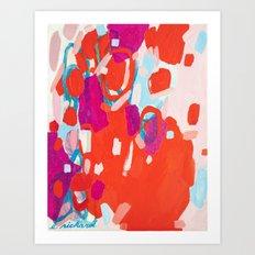 Color Study No. 7 Art Print