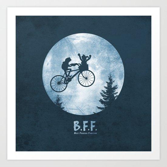 B.F.F. Art Print