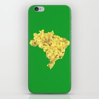 brazil iPhone & iPod Skins featuring Brazil by Ursula Rodgers