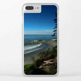 Coastal View Clear iPhone Case