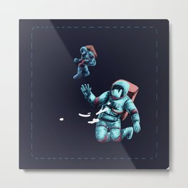 Get your space together Metal Print