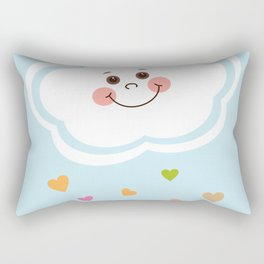 Cute Cloud Rectangular Pillow