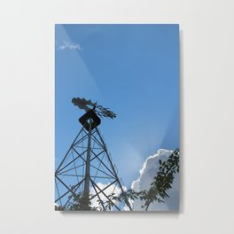 Up: A Windmill Metal Print