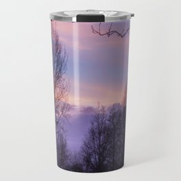 Sunset silhouette Travel Mug