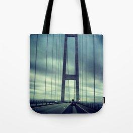 Great Belt Bridge Tote Bag