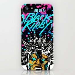 FEAR OF A BLACK KIRBY iPhone Case
