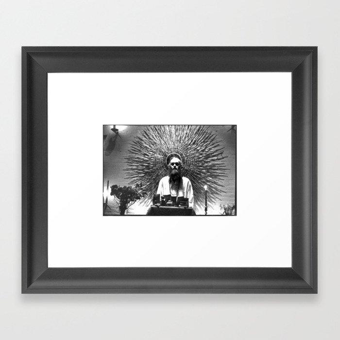 Baba Ram Dass Gerahmter Kunstdruck
