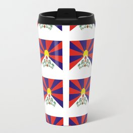 flag of thibet,བོད,tibetan,asia,china,Autonomous Region,everest,himalaya,buddhism,dalai lama Travel Mug
