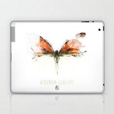Butter flies - Hebomoia_Leucippe Laptop & iPad Skin