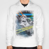 rushmore Hoodies featuring Mt Rushmore, Yo by Dan Howard