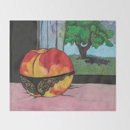 Peachy Keen Throw Blanket