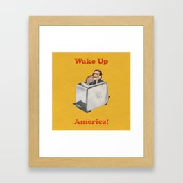 Wake Up Call Framed Art Print