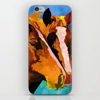 horses iPhone & iPod Skins featuring HORSES by Ruth Rosenzweig