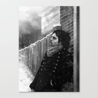 bucky Canvas Prints featuring -Bucky- by JEUDI