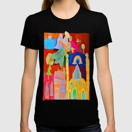 Rainbow Angel T-shirt