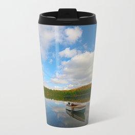 A 1949 Thompson afloat at Mirror Lake Travel Mug