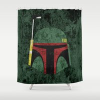 boba fett Shower Curtains featuring Boba Fett by Some_Designs