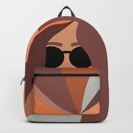 Girl Power - Earthy Rainbow Hair Backpack