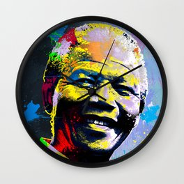 Nelson Mandela Madiba Wall Clock
