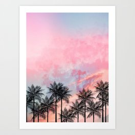 Summer Palm Tree #Society6 #Buyart #Decor Art Print