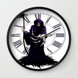 The Grim Reaper Wall Clock