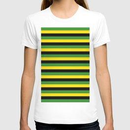 Jamaica flag stripes T-shirt